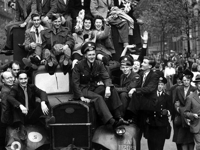 VE Day stories: victory, defeat - and nice knickers
