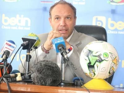 Fred Ambani defends Harambee Stars coach Sebastien Migne after selection backlash