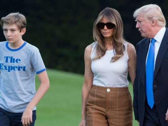 Melania Trump says she's a 'full-time mom' who refuses to hire a nanny — and it reveals a growing trend with the rich and powerful