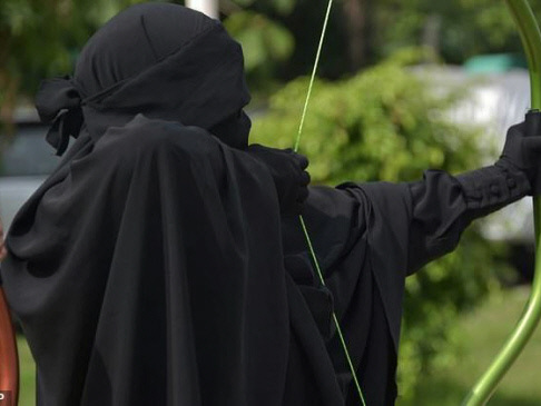 Indonesia's 'Niqab Squad' takes aim at face veil prejudice