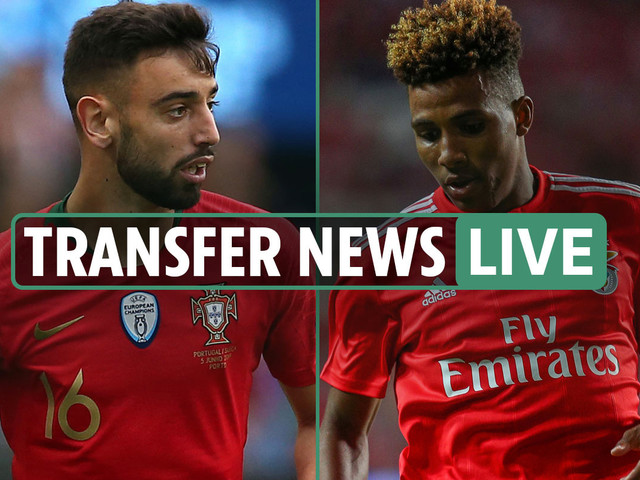 6pm Transfer news LIVE: Tottenham close to Gedson Fernandes signing, Man Utd eye Bruno and Soumare, Arsenal Boateng race