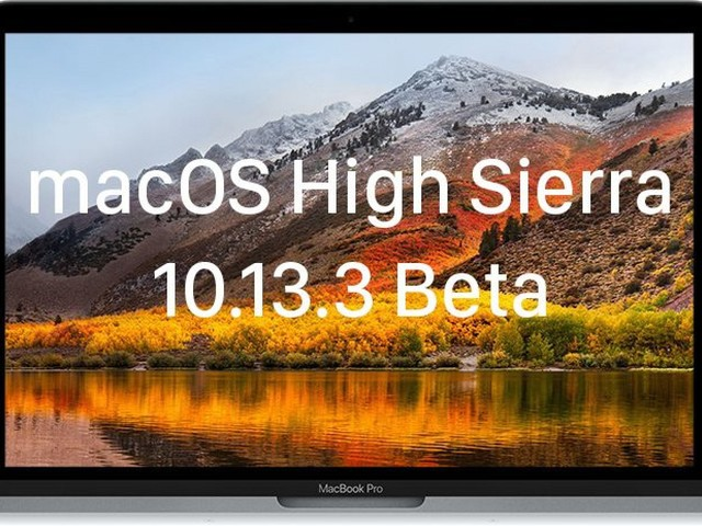 Apple Seeds Fifth Beta of macOS High Sierra 10.13.3 to Developers