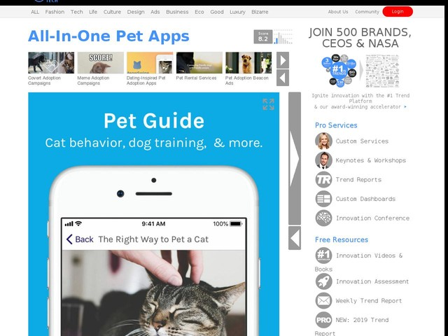 All-In-One Pet Apps - ScritchSpot Offers a Wealth of Fun and Useful Resources for Pet Parents (TrendHunter.com)