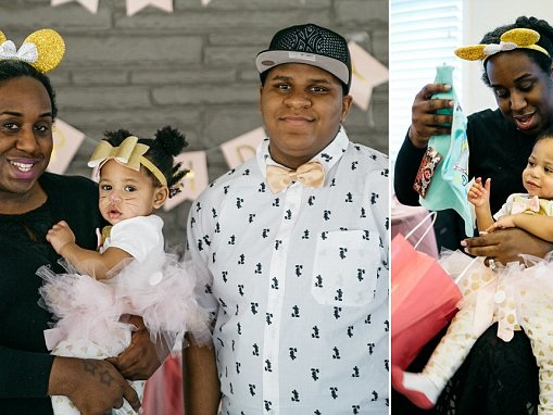 Detroit trans couple celebrate daughter's first birthday
