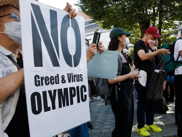 Two athletes in Olympic Village test positive for coronavirus