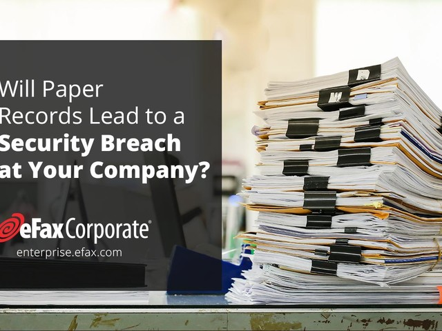 BrandPost: Will Paper Records Lead to a Security Breach at your Company?