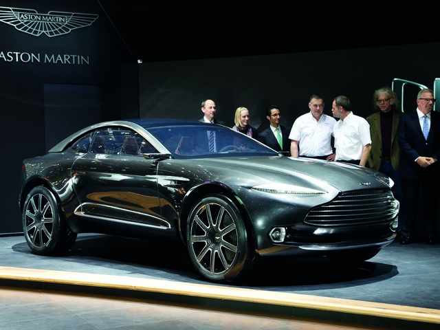 Aston Martin readies DBX SUV for 2019 launch