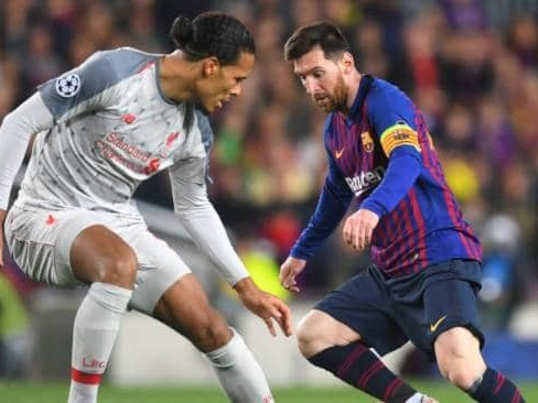 Liverpool defender Virgil van Dijk narrowly loses out to Lionel Messi for the Ballon d'Or