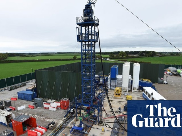 UK fracking site experiences second tremor in a week