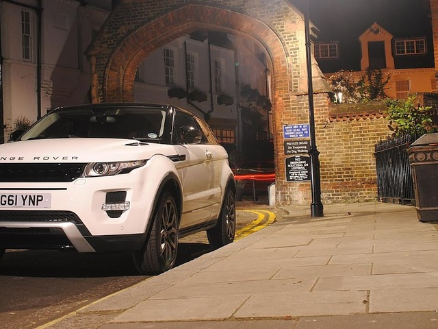 The Range Rover Evoque. Lets You Have it All!