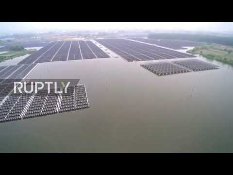 China: Drone shows world's largest floating solar plant up and running in China (Pinned)