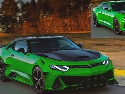 "Chevrolet Camaro ""Huracan"" Is the Italian Muscle Car"