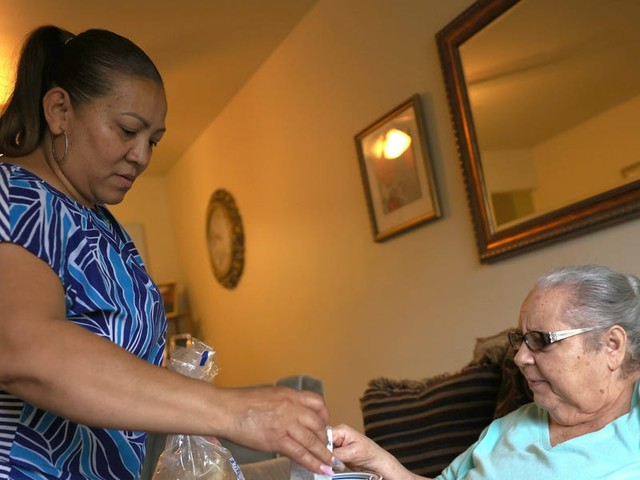Home-care agencies say they're desperate to hire caregivers amid a labor 'shortage' in near-minimum-wage jobs