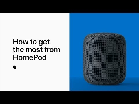 Apple Shares New Video on Getting the Most From HomePod