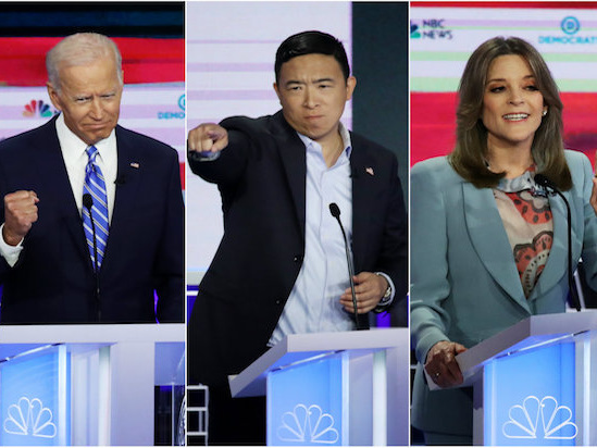Inside the Democrats' Podcast Presidential Primary, Where Marianne Williamson and Andrew Yang Rule