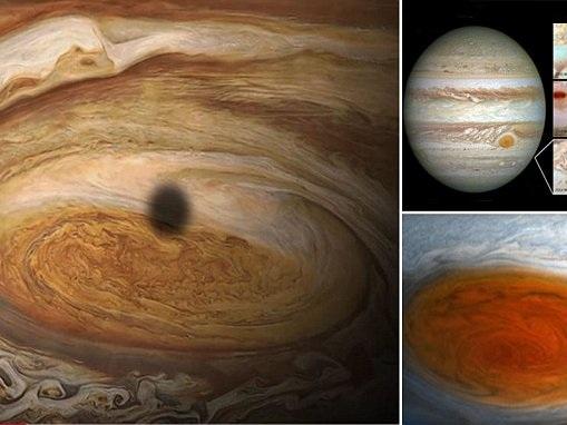 Jupiter's 'Great Red Spot' megastorm is SHRINKING