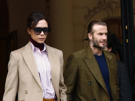 Love at first sight for Victoria and David Beckham