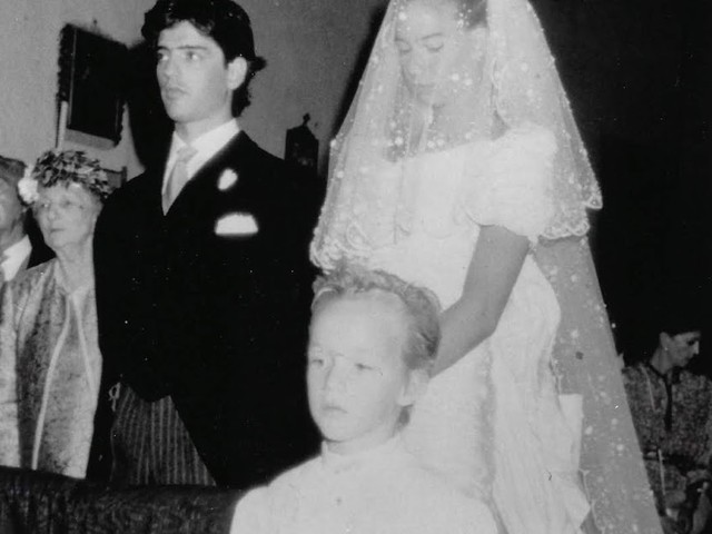 The marriage of Princess Bianca of Savoy and Count Giberto Arrivabene