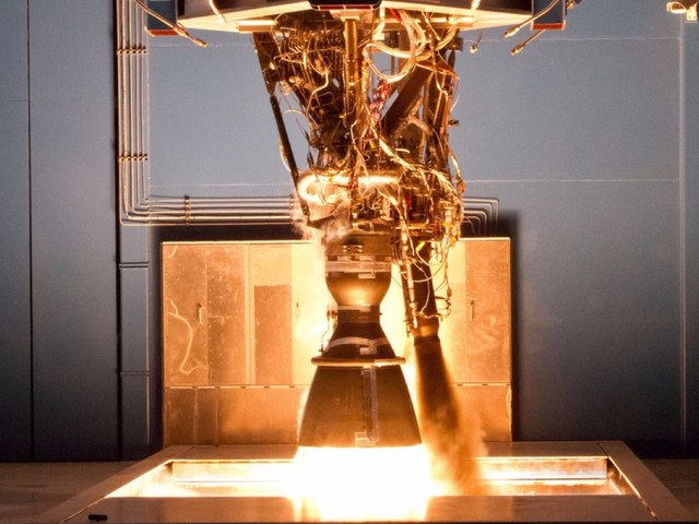 SpaceX's next-generation rocket engine exploded during a key test on Saturday