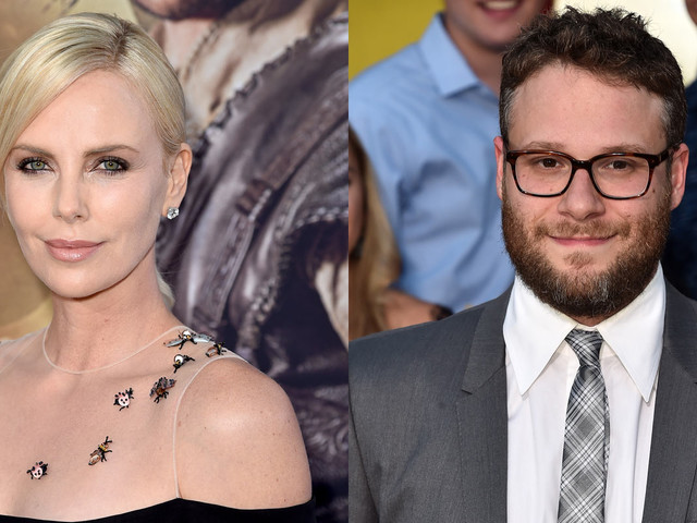 Charlize Theron & Seth Rogen to Star in Upcoming Comedy 'Flarsky'!