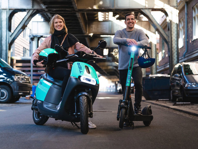 Electric Moped Acquisitions - Tier Mobility Purchased Coup's Left Over Electric Scooters and Mopeds (TrendHunter.com)