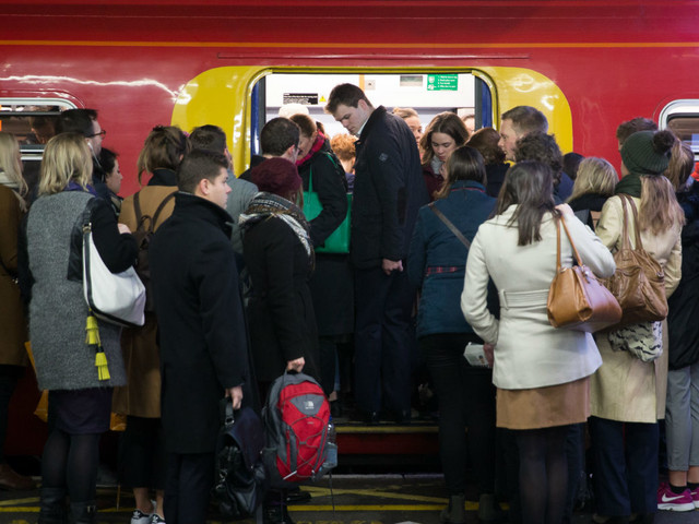 UK passengers lost four million hours to rail delays last year
