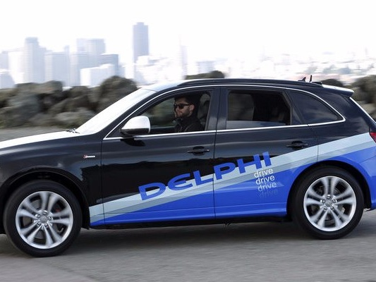TRANSPORTATION AND LOGISTICS BRIEFING: Delphi reorganizes for digital disruption — Ford and Lyft team up on self-driving cars — Mercedes tests drone delivery