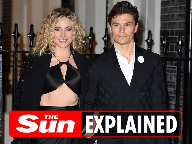 Who is Pixie Lott's boyfriend Oliver Cheshire?