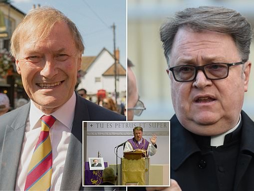 Police 'prevented Catholic priest from giving murdered Tory MP Sir David Amess his last rites'