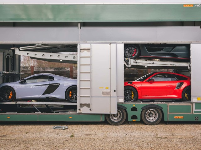 A day in the life of Britain's exotic car transporters