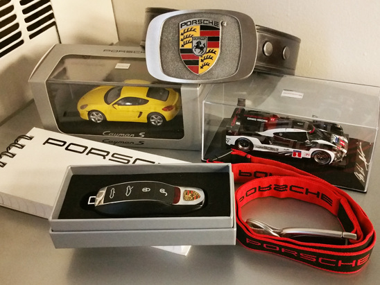 Giveaway Alert! Win this Porsche Swag By Signing Up to Our Newsletter
