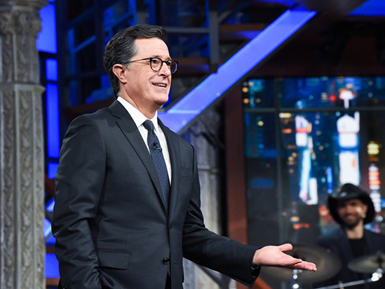 Stephen Colbert's Best Jokes at the CBS Upfront: 'Late Show' Host Mocks Trump, CBS All Access and Chuck Lorre