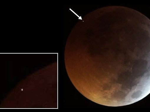 Did YOU spot it? Astronomers reveal meteoroid hit the moon during this week's total lunar eclipse