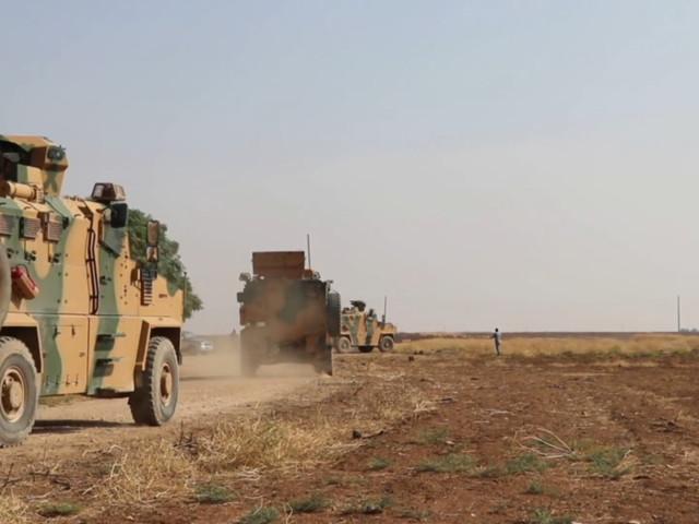 WATCH Russia & Turkey begin joint military patrols in northeastern Syria