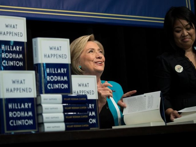 Hillary Clinton's Book Tour Is a Dose of Much-Needed Therapy for Her Fans