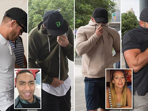 Four Brit men in Benidorm court to deny role death plunge