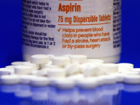 Study says healthy adults shouldn't take aspirin daily due to haemorrhage risks