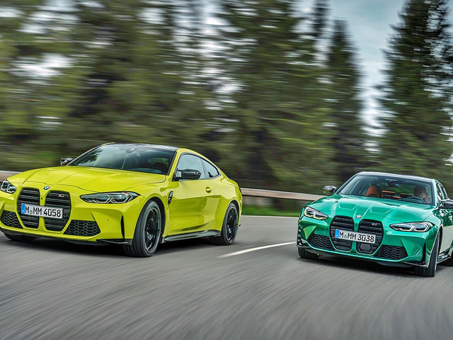 2021 BMW M3 and M4 revealed with up to 510hp