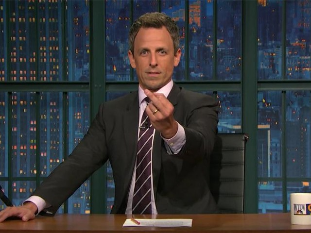 Seth Meyers' Eminem-Inspired Freestyle Rap Sends a Message to Trump Supporters