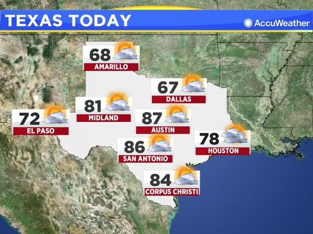 Houston Weather: Fog clearing, warm this afternoon
