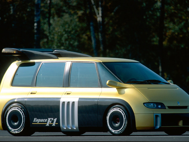 Throwback Thursday 1995: On board the Renault Espace F1