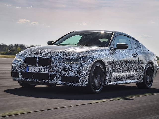 First drive: 2020 BMW 4 Series prototype