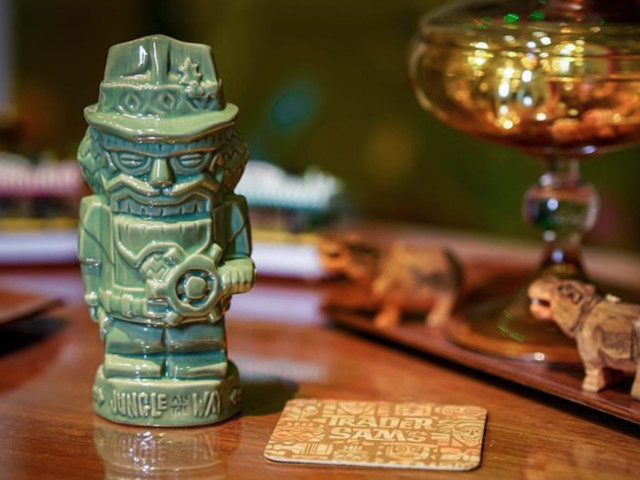 Raise Your Glass to the NEW Nutcracker Tiki Mug at Trader Sam's!