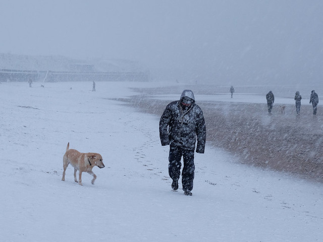 Met Office Forecasters Predict Coldest Week In 5 Years Will Bring Widespread Snow Showers