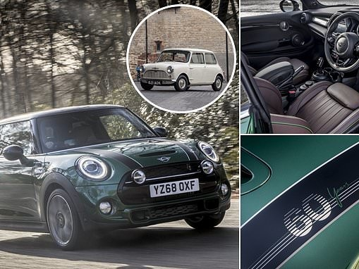 BMW releases a £30k Mini 60 Years Edition to celebrate its 2019 anniversary