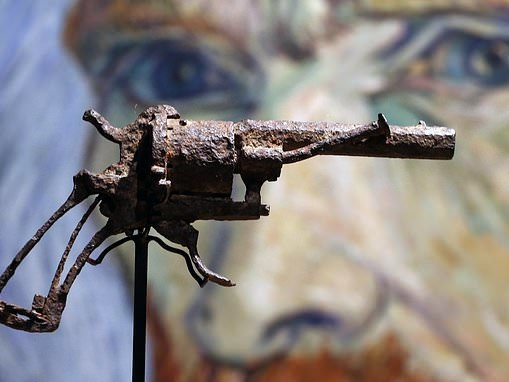 Van Gogh's 'suicide' gun could fetch up to $50,000 at auction