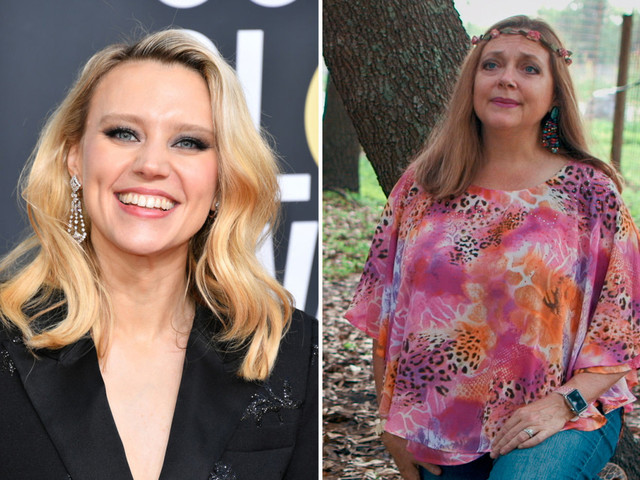 Tiger King star Carole Baskin begs Kate McKinnon not to use real cats in new TV miniseries