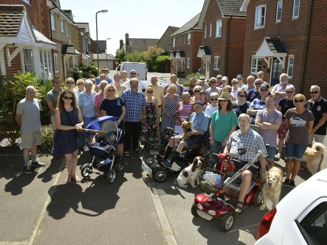 Victory for people power as West Bergholt housing plans turned down