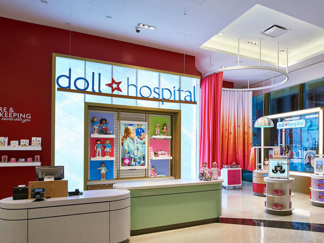 In-Store Doll Hospitals - American Girl's Doll Hospitals Have Doll Doctors for Wellness Checks (TrendHunter.com)