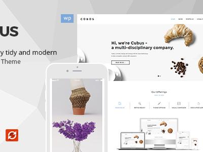 Cubus - Responsive Business WordPress Theme (Business)